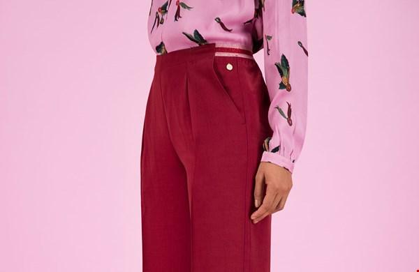 Pants Royal Red by Katja