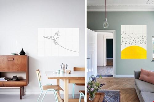 Vögel an die Wand von IXXI
