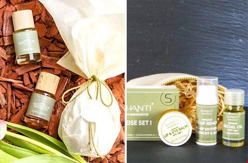Shanti Cosmetic naturkosmetic gift set travel Flavourites