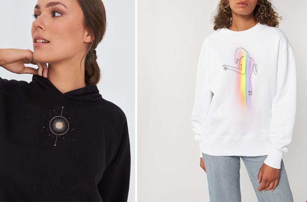 Kultgut-shop eco T-shirt Flavourites