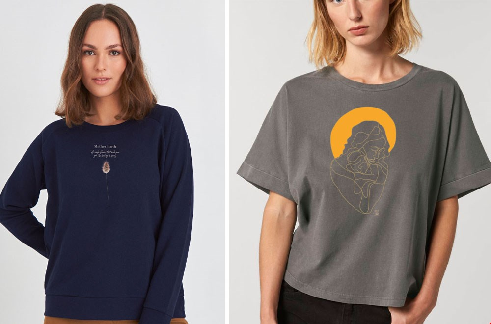 Kultgut-shop fair fashion T-shirt Flavourites