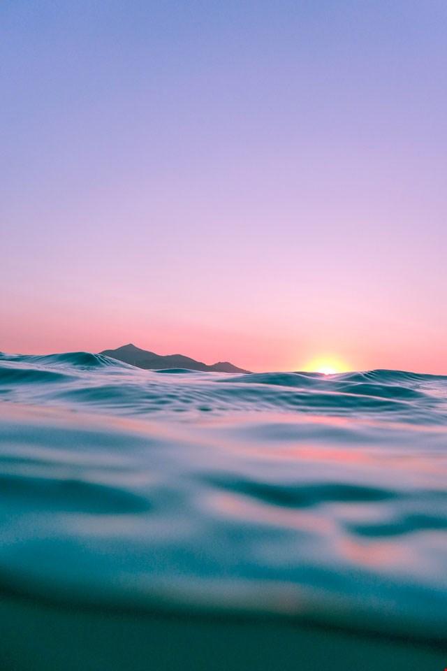 Hintergrund 'Sonnenuntergang'