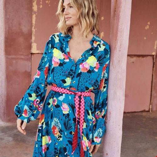 Kleid Delicious Mess Blue