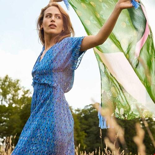 Kleid Sprinkles Blue