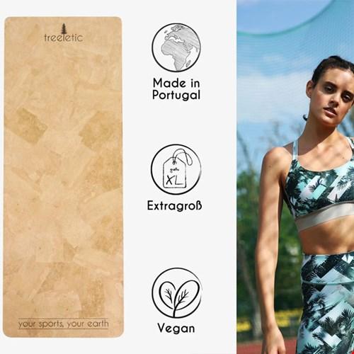 Yogamatten aus Kork @treeletic und nachhaltiger yogawear @ambiletics
