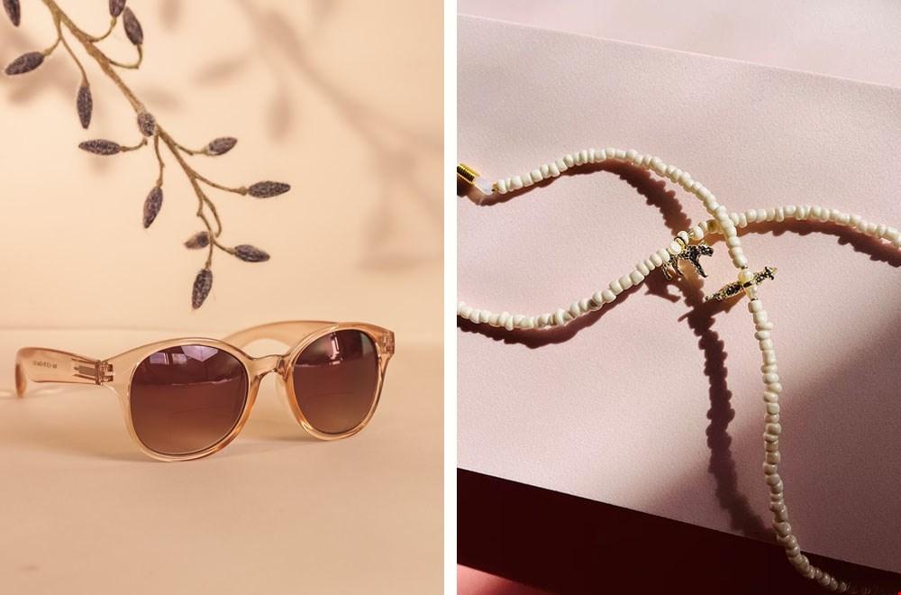 Sonnenbrillen mit Lesefenster @babsee, Sonnenbrillenbänder @studioamoreira