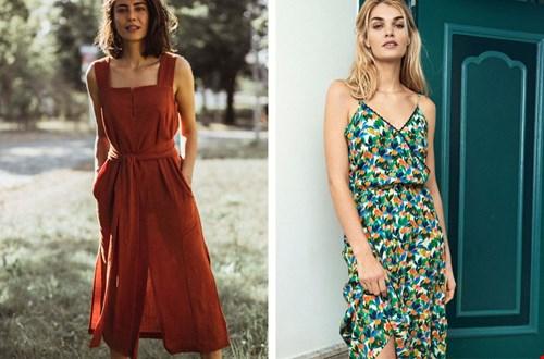 Sommerkleider @jyotifairworks und @pomamsterdam