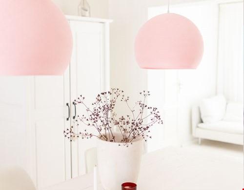 Hängelamp Light Pink
