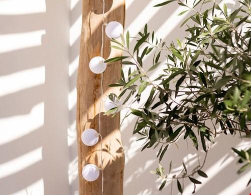 Outdoor Lichterkette Blanco