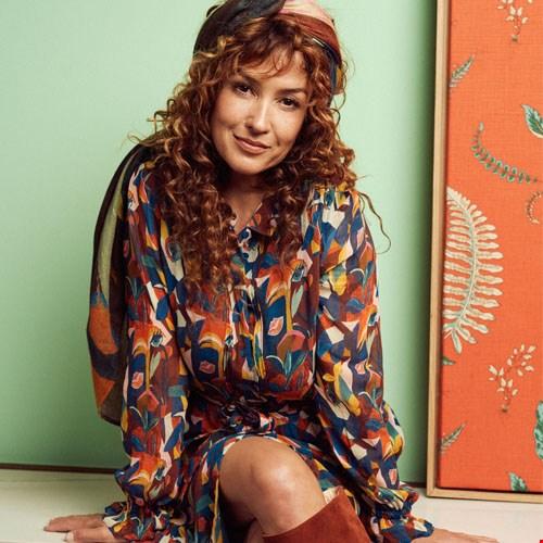 Kleid Sara Artist Palette