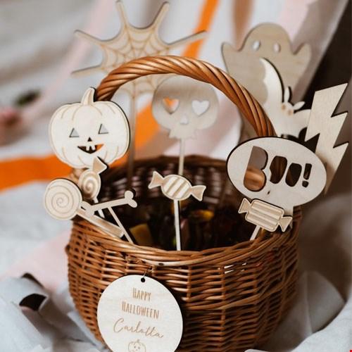 Cake Topper Set Halloween